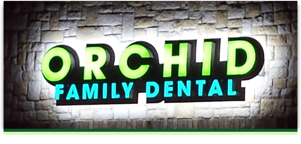 Orchid Family Dental office exterior design